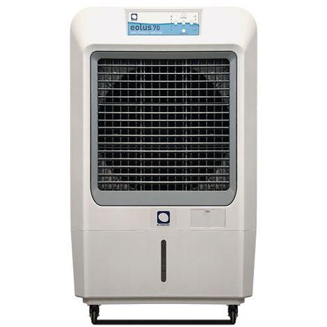 Climatizador Evaporativo MCONFORT Eolus 70 Pro. Potencia 230W. Cobertura 100m². Máximo Caudal 7000 m³/h. 3 Velocidades. Mando a