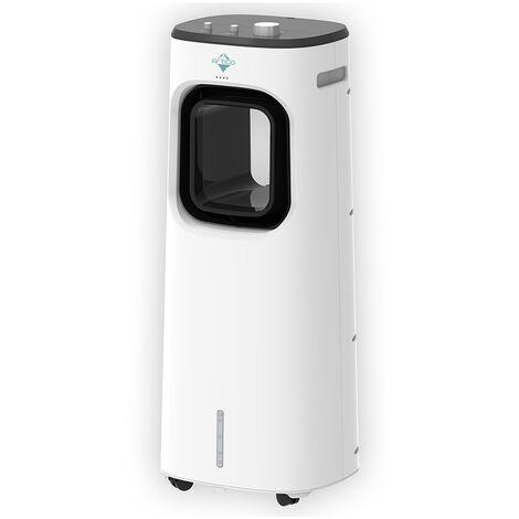 Climatizador Portátil Evaporativo Humificador 65W Bajo Nivel de Ruido 51dB 3,3L
