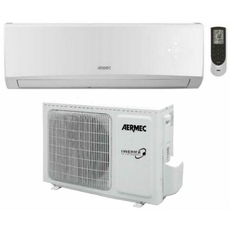 Climatizzatore Aermec 3.5 KW 12000 Btu inverter A++ Gas R32 SLG350W