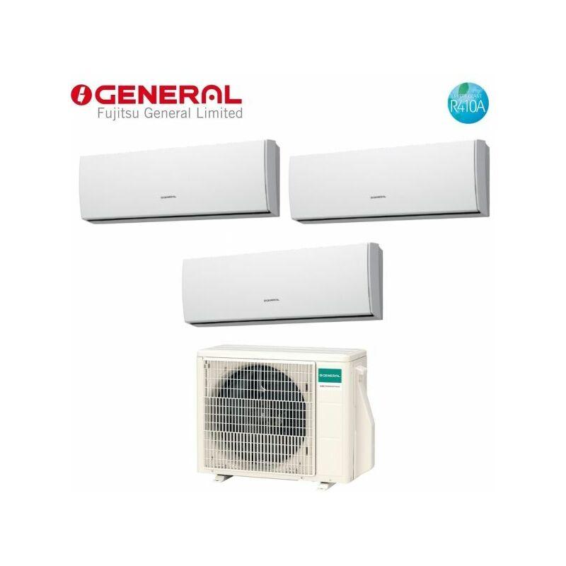 Climatizzatore Condizionatore Trial Split Inverter serie LUCA 9+9+9 con AOHG24LAT3 R 410 9000+9000+9000 G