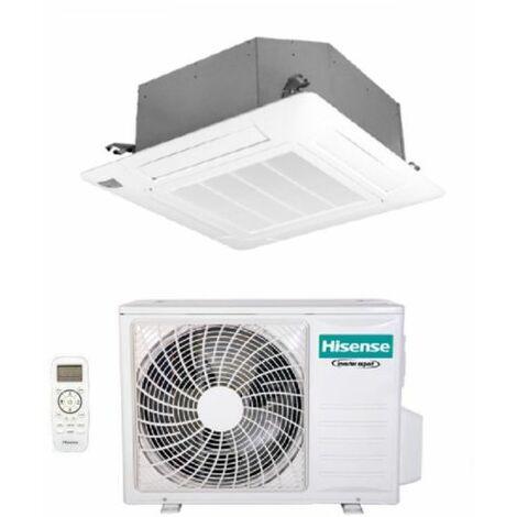 Climatizzatore Condizionatore Hisense a Cassetta 24000 Btu AUC71UR4RGB4 R-32 Wi-Fi Optional con Telecomando e Pannello Incluso - Novità