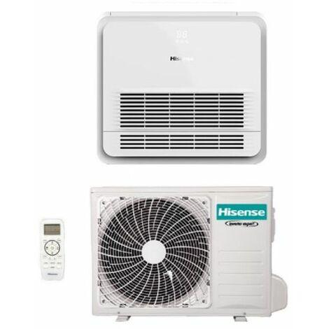 Climatizzatore Condizionatore Hisense Console 12000 Btu AKT35UR4RK4 R-32 Wi-Fi Optional con Telecomando di Serie - Novità