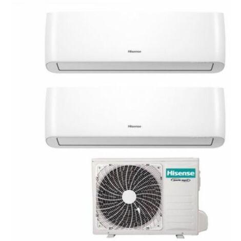 Climatizzatore Condizionatore Hisense Dual Split Inverter serie ENERGY PRO 9+9 con 2AMW35U4RRA R-32 Wi-Fi Integrato 9000+9000 - Novità