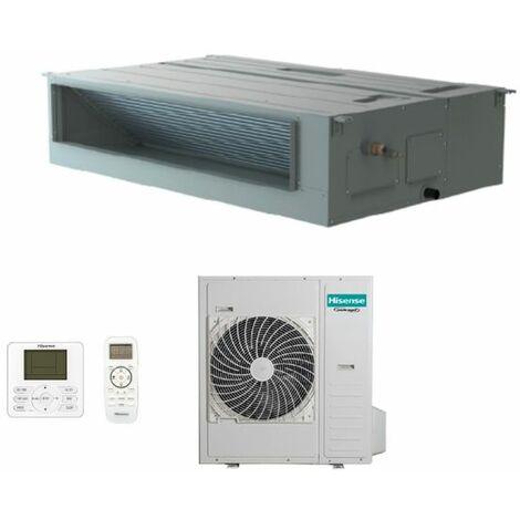 Climatizzatore Condizionatore Hisense Inverter Canalizzabile 42000 Btu AUD125UX4RHH5 R-32 Wi-Fi Optional con Telecomando di Serie e Cablato - Novità