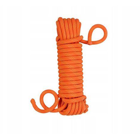 Climbing rope Waste rope Linen rope Climbing rope 14 mm Orange (10 meters Climbing rope