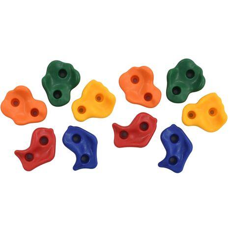 Climbing Stones 10 pcs Multicolour PE - Multicolour