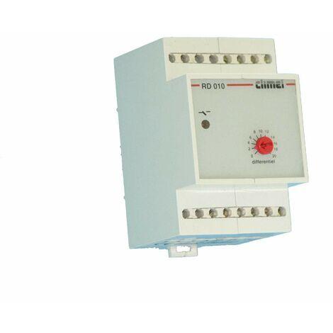 Climel RD010 Régulateur réglable de 0°C à 20°C