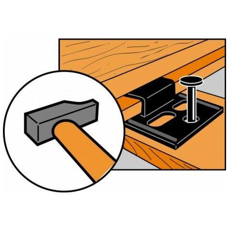 Clip 2mm boite de 250 pour Lambris simpson