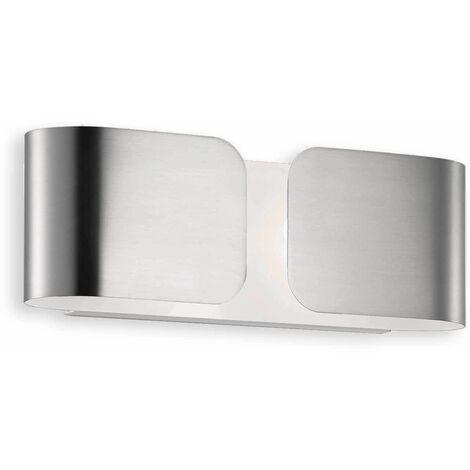 CLIP chrome wall light 2 bulbs Width 25 Cm