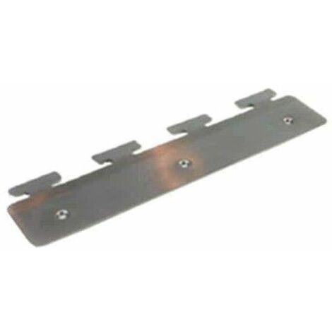 clip de acero inoxidable para 300 mm de PVC tanga