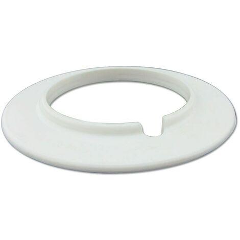 Clip de Tubería PVC Blanco Ø51mm Aspiración Centralizada