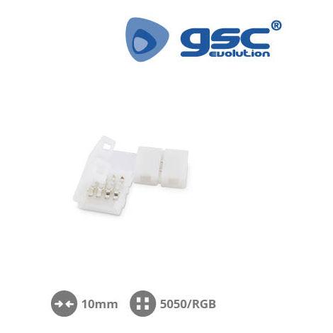 Clip en forma de L 10mm SMD5050/RGB