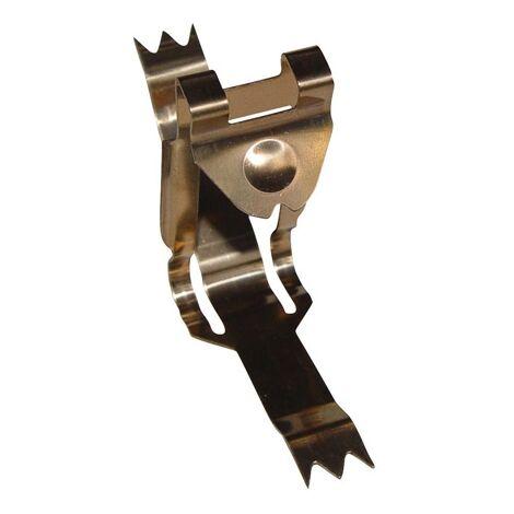 """main image of """"clip modèle S pour couvre joint PVC ou Aluminium"""""""