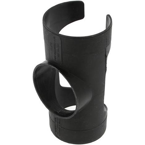 Clip normal noir pour drain agricole O80