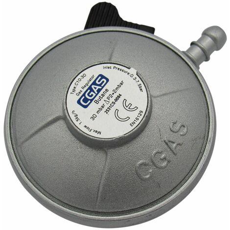 Clip On Butane Gas Regulator 20MM - Calor 30mbar