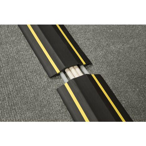 Clip serre-câbles, diamètre 6.4mm Aluminium Argent