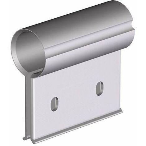 Clip suspensión lámina (Brida) final 10cm Cepro