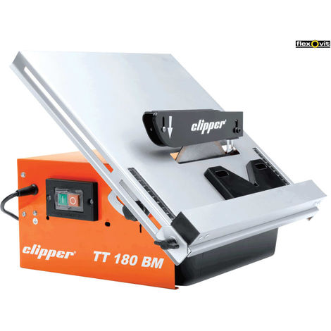 CLIPPER 220V 180MM PRO TILE CUTTER IN CARRY CSE