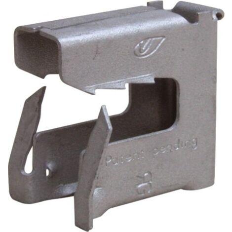 Clips acier ressort multifonctionnel, diamètre 8-16 mm, boîte de 100 pièces