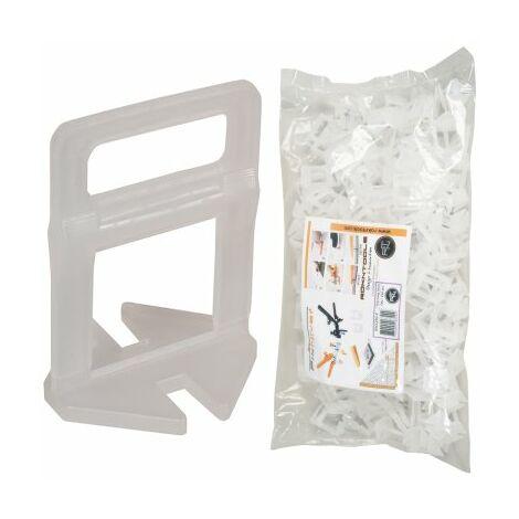 Clips auto-nivelants 2 mm LONG (13-23mm) FIXNIVEL