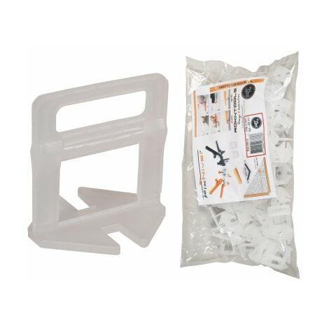 Clips croisillon auto-nivelants 3 mm (3-13mm) FIXNIVEL