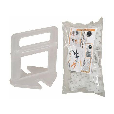 Clips croisillon auto-nivelants 4 mm (3-13mm) FIXNIVEL