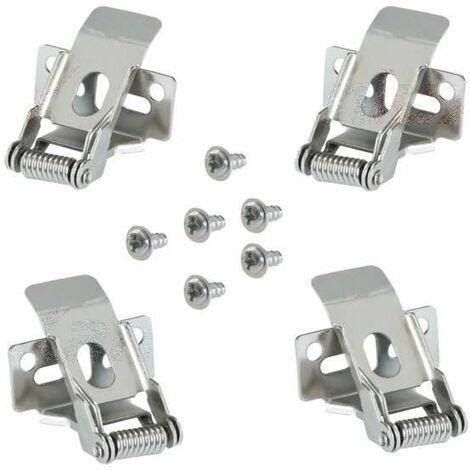 Clips de Fixation pour Encastrement PLACO Dalle LED BRAVO 30x60cm - 60x60cm