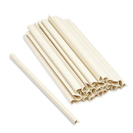 Clips de fixation pour PVC bandes de protection 30x 7 couleurs
