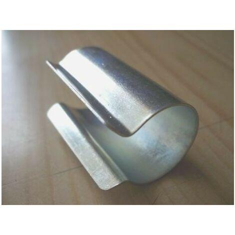 Clips de fixation ronds en acier galvanisé