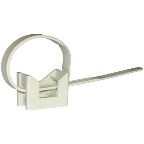 Clips de la abrazadera de Elematic para el diámetro del tubo de 16/32 100 piezas 565510