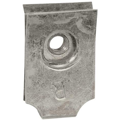 Clips-écrou pour vis M5 - pour plaques perforées Lina 25 - x100