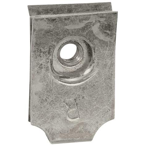 Clips-écrou pour vis M6 - pour plaques perforées Lina 25 - x100