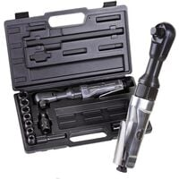 Cliquet réversible pneumatique Aerotec 201354 1/2 (12,5 mm) 6.3 bar + mallette 1 pc(s)