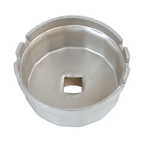 Cloche filtre à huile 14 pans 64,5 mm