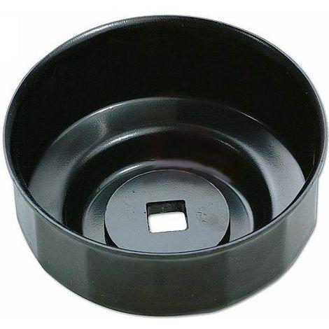 Cloche filtre à huile 76 mm 14 pans empreinte 3/8'