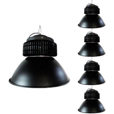 Cloche LED Industrielle 150W 120° NOIR (Pack de 5)