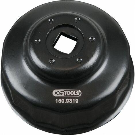Cloche pour filtre à huile Ø 64,0 mm / 14 cannelures