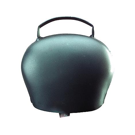 Cloche vache Black Blue - Ukal - Acier bombé 120mm
