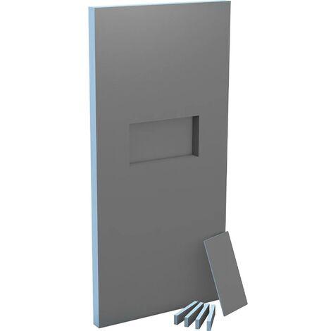Cloison XL Sanwell Wedi niche intégrée 60/30 2500x1200x100mm