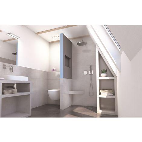 Cloison XL Sanwell Wedi niche intégrée 60/30 2500x900x100mm