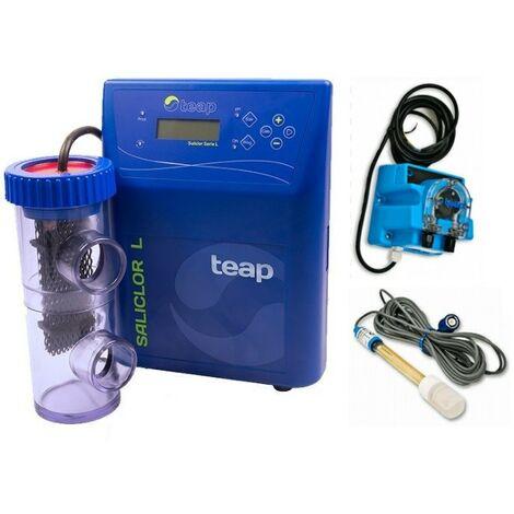 Clorador Salino Saliclor Serie L ph - TEAP - Producción de cloro: 25 g/h