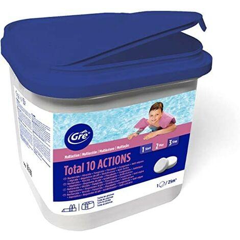 Cloro 10 acciones pastillas 250 gr GRE envase 5 kg 76038