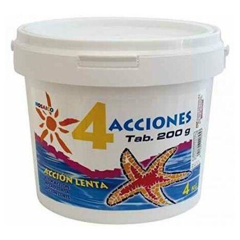 CLORO 4 ACCIONES BOTE DE 4 KG