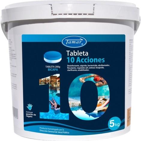 CLORO 5 ACCIONES TABLETA 200 GR. - Tamar