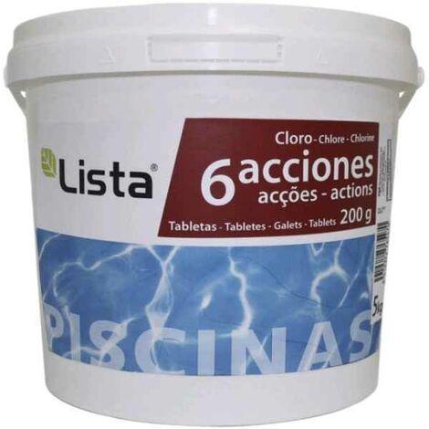 CLORO 6 ACCIONES BOTE DE 5 KG