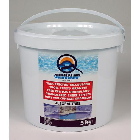 Cloro Alboral 3 Ef. Granulado - QUIMICAMP - 200505 - 5 KG