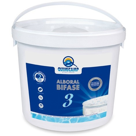 Cloro Alboral Bifase 3 250Gr 5 Kg - QUIMICAMP - 208205