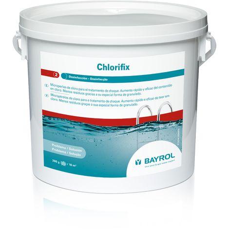 Cloro De Choque Chlorifix Bayrol 5 Kg, 2 Ud