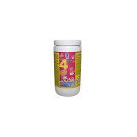Cloro en pastillas PQS 4 Acciones: Desinfección, Estabilizador de Cloro, Algicida y Floculante. Pastillas 20 gr. Bote 1 Kg.
