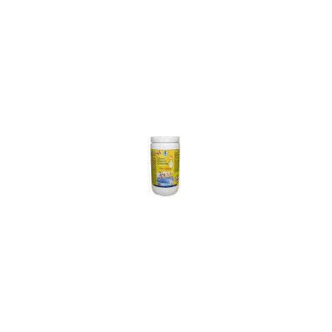Cloro en pastillas PQS alta concentración: Desinfección, Estabilizador de Cloro, Algicida y Floculante. Tabletas de 100 gr. Bote 1 Kg.